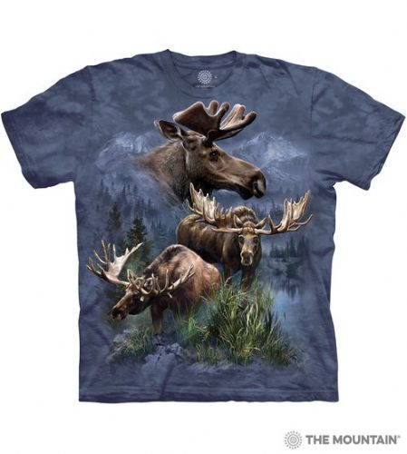 Moose Collage T-shirt | The Mountain®